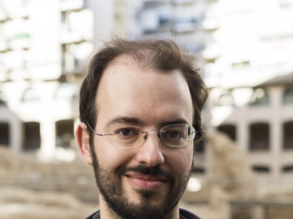 Jorge Luis Bail, el diputado aragonés que ha firmado la iniciativa.