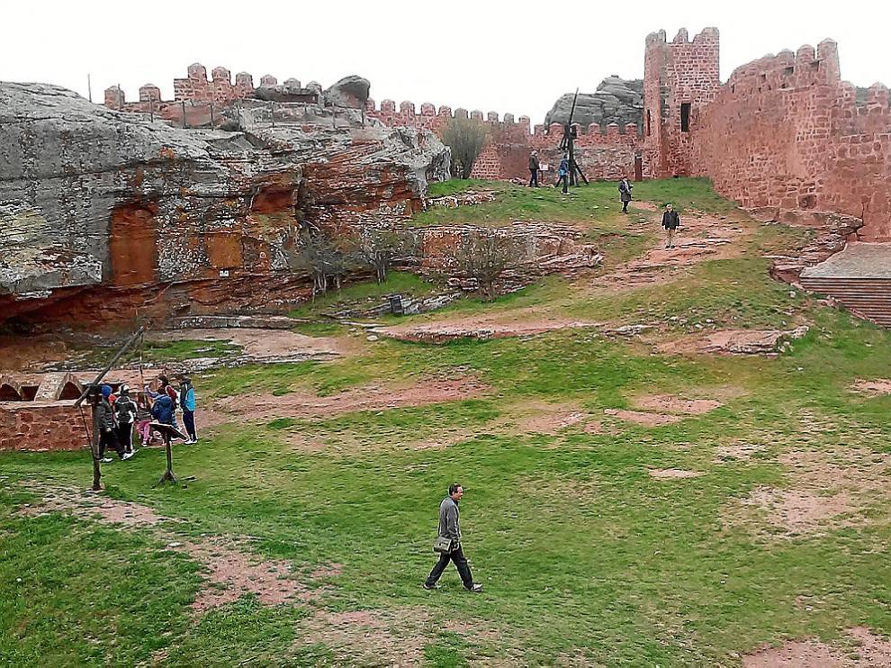 El castillo de Peracense es una de las fortificaciones mejor conservadas y más visitadas.