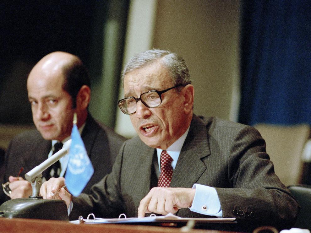 El ex secretario general de Naciones Unidas Butros Butros Gali en una imagen de archivo.