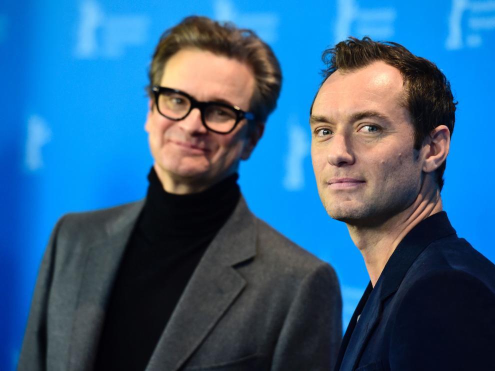 Colin Firth y Jude Law, en la Berlinale