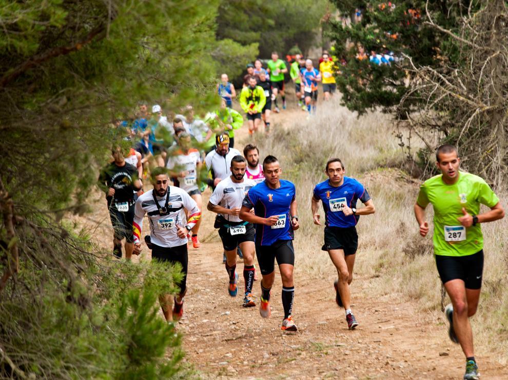 Una imagen de la última edición de la Carrera del Ebro