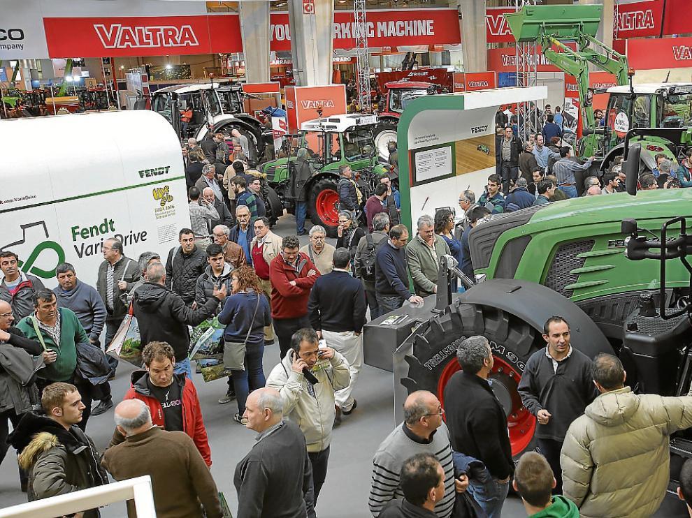 Agco, el mayor expositor de FIMA muestra el tractor de más potencia expuesto en el certamen.