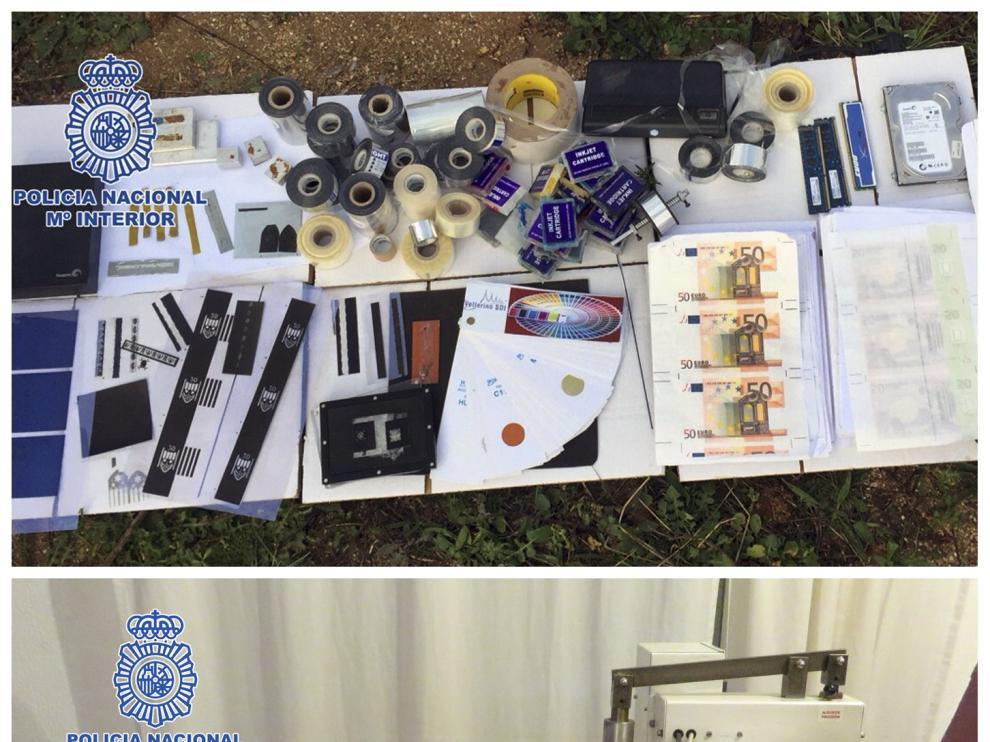 Imagen proporcionada por la Policía Nacional