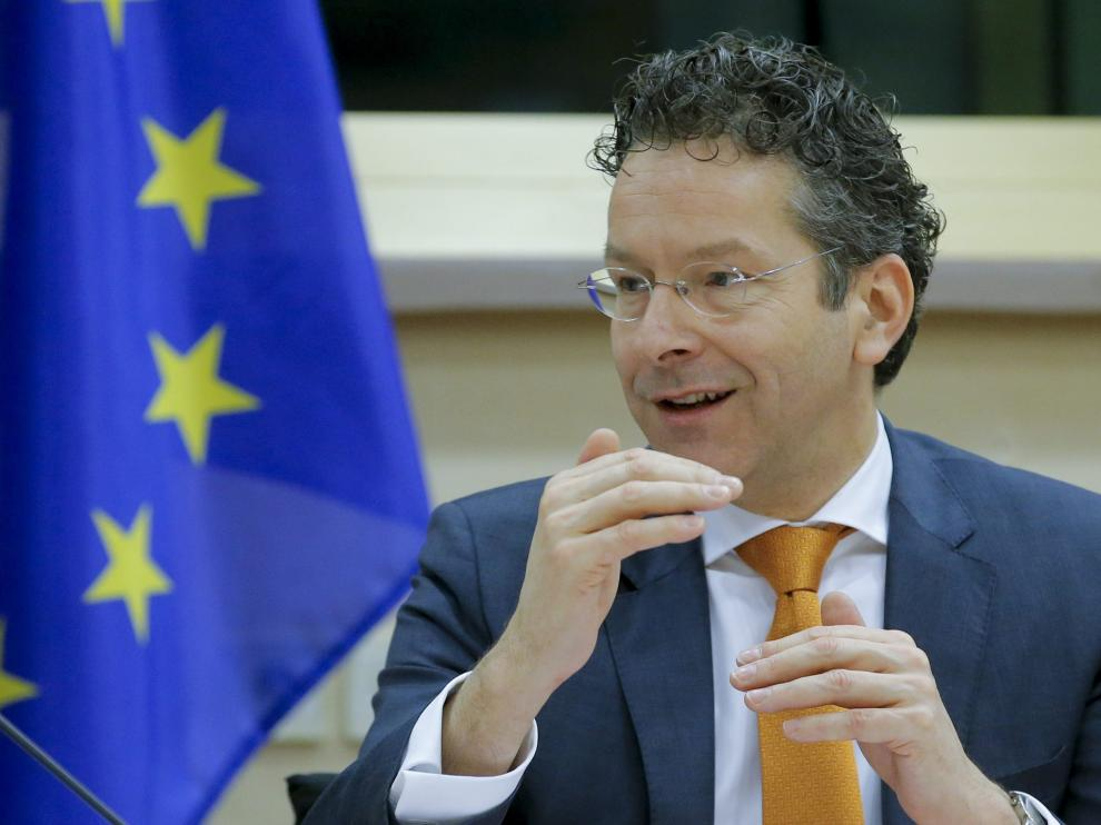 Dijsselbloem, presidente del Eurogrupo.