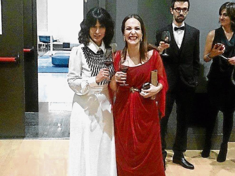 Imagen de archivo de Inma Cuesta y Paula Ortiz.