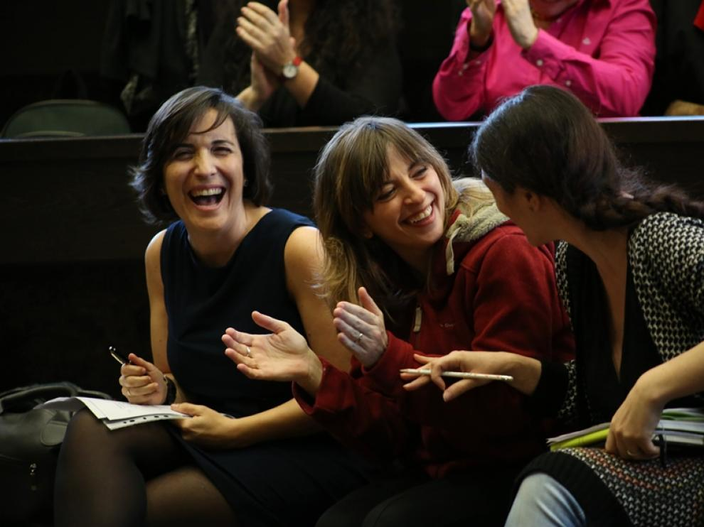 Marisol Aznar dirige la última sesión del II Taller de Monólogos científicos del campus