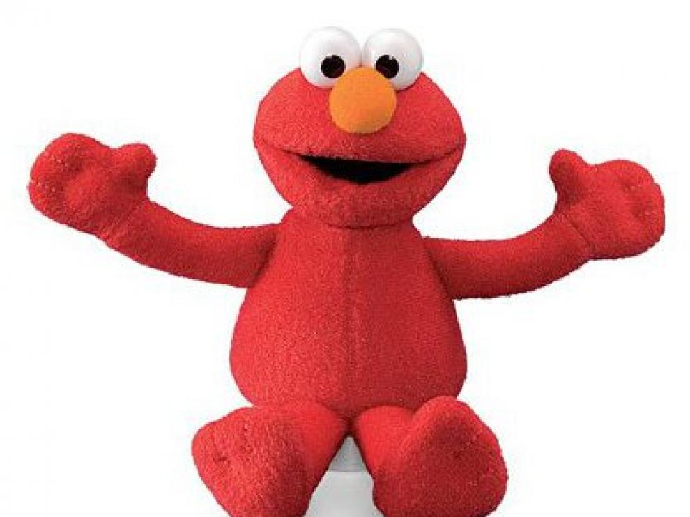 Elmo, de Barrio Sésamo, el peluche con el que tapaba la cámara de seguridad