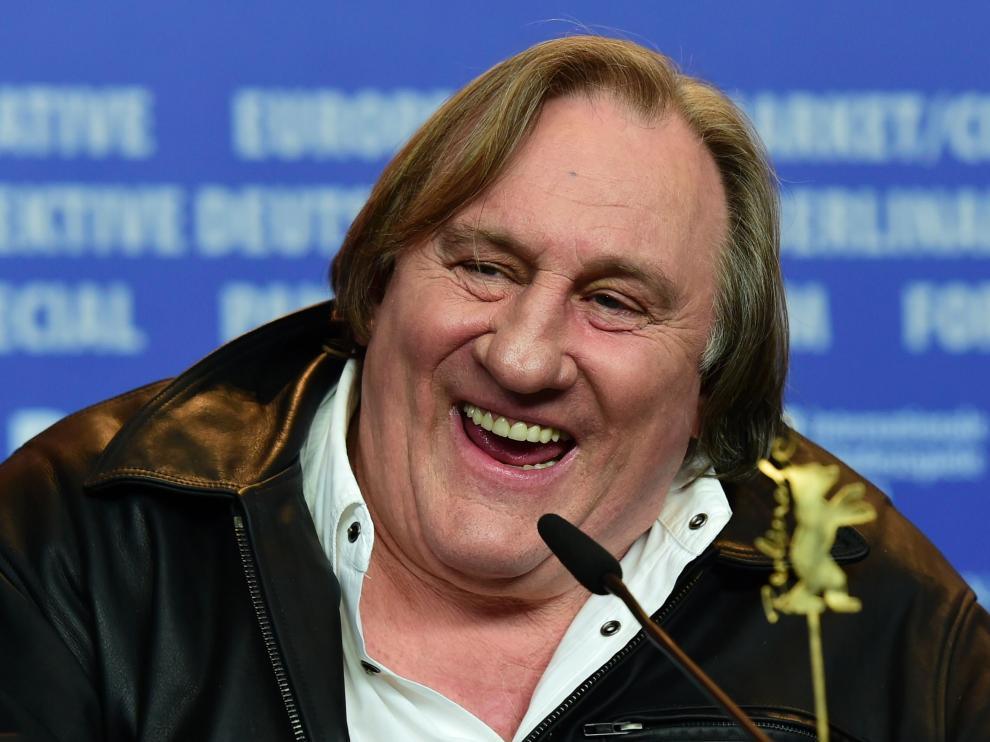 Gerard Depardieu, en la Berlinale