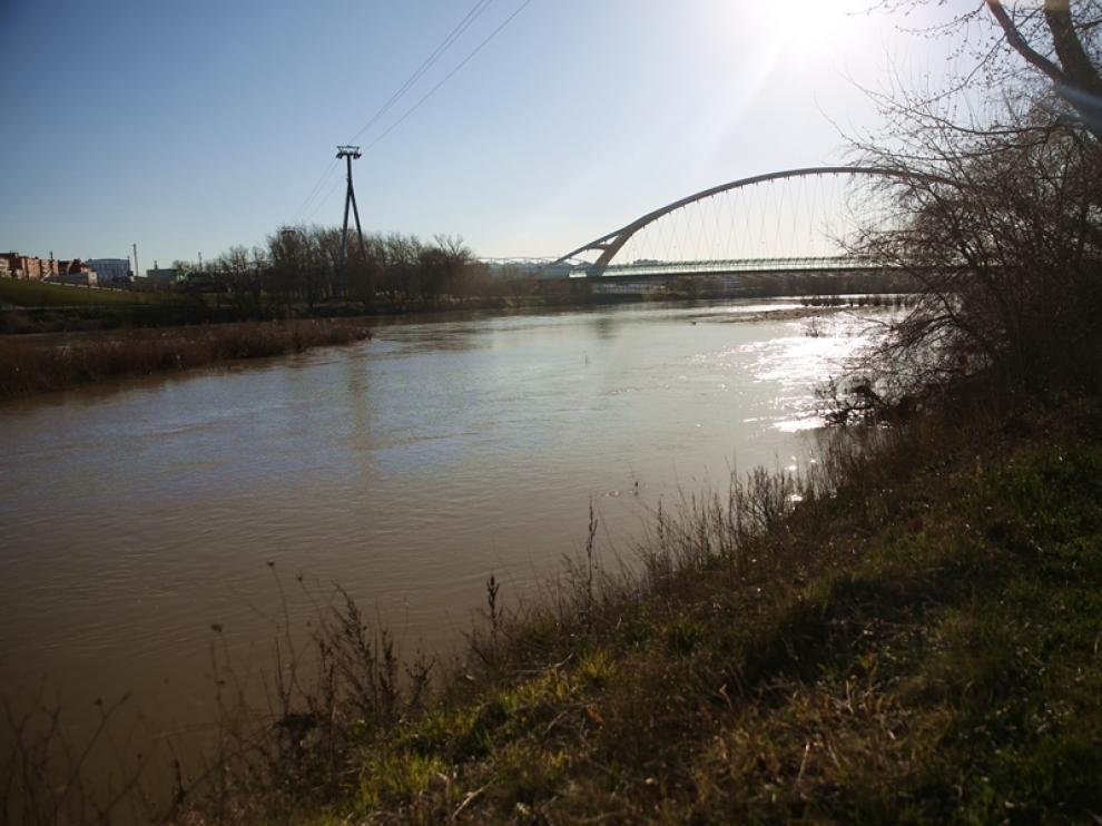 El Ebro crece durante esta semana