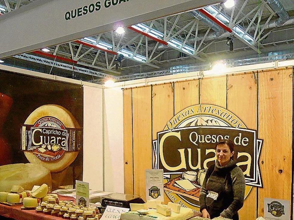 Los productos de Quesos de Guara estarán en Expo Huesca.