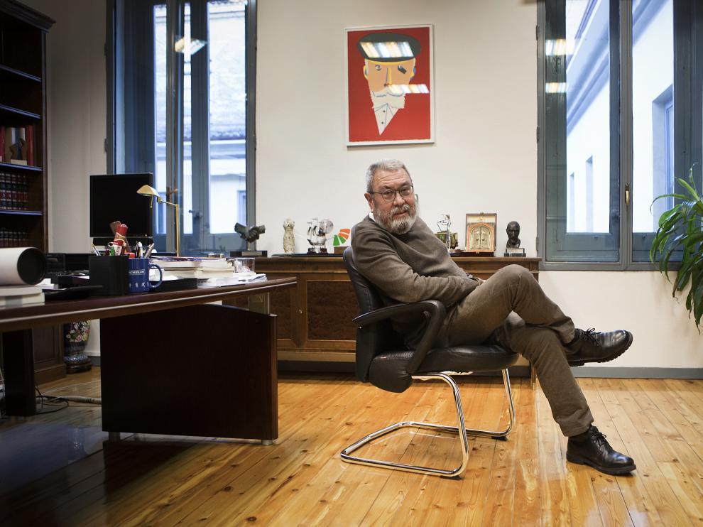 El secretario general de UGT, Cándido Méndez, dejará el cargo el próximo mes de marzo tras 22 años al frente de la central.