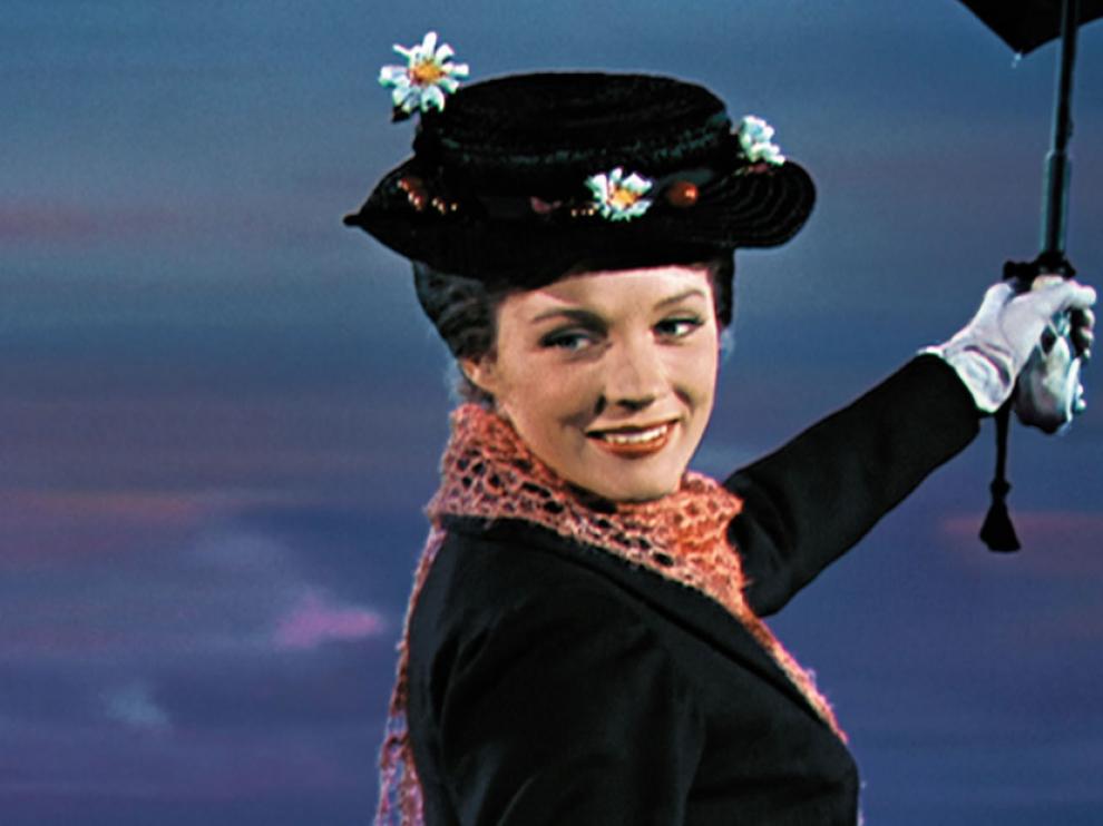 Captura de la película 'Mary Poppins', de Disney.