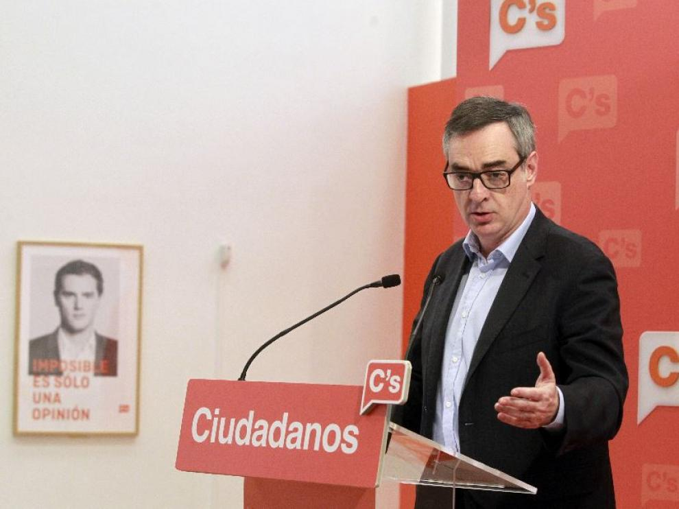 José Manuel Villegas, vicesecretario general de Ciudadanos.