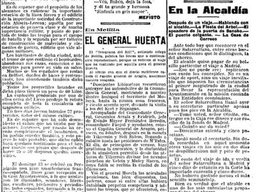 El alcalde de Zaragoza que pagaba los viajes de su bolsillo