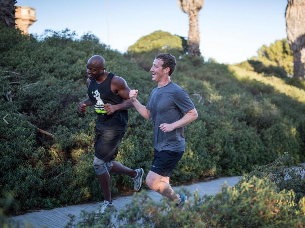 Mark Zuckerberg en Barcelona.