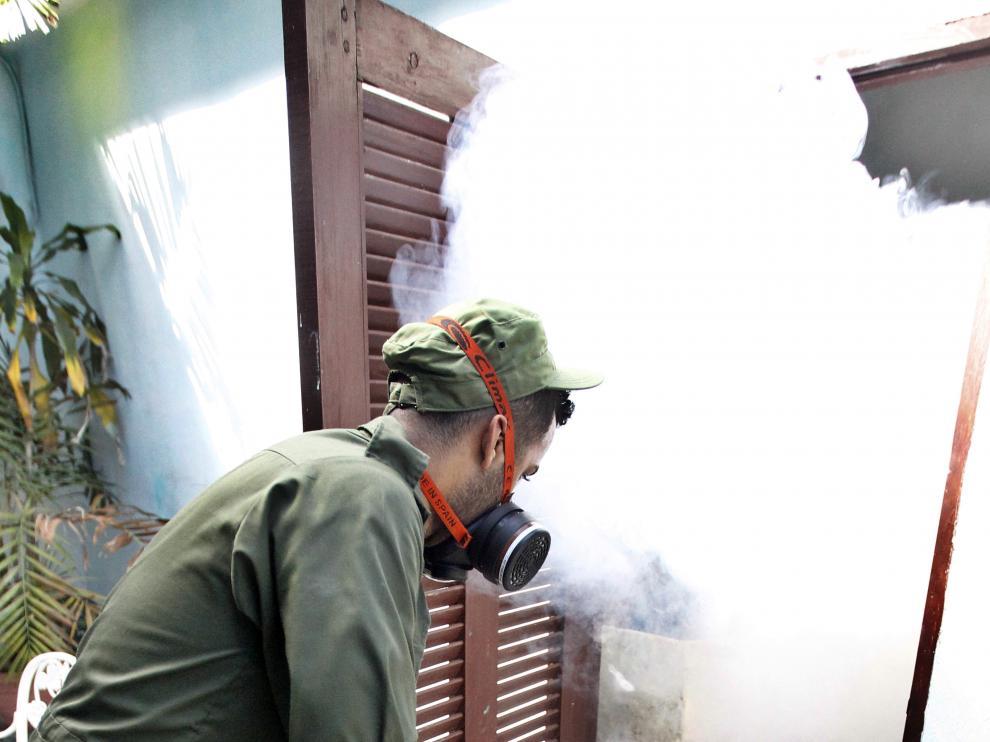 Medidas preventivas en Cuba para prevenir la transmisión del virus del Zika.