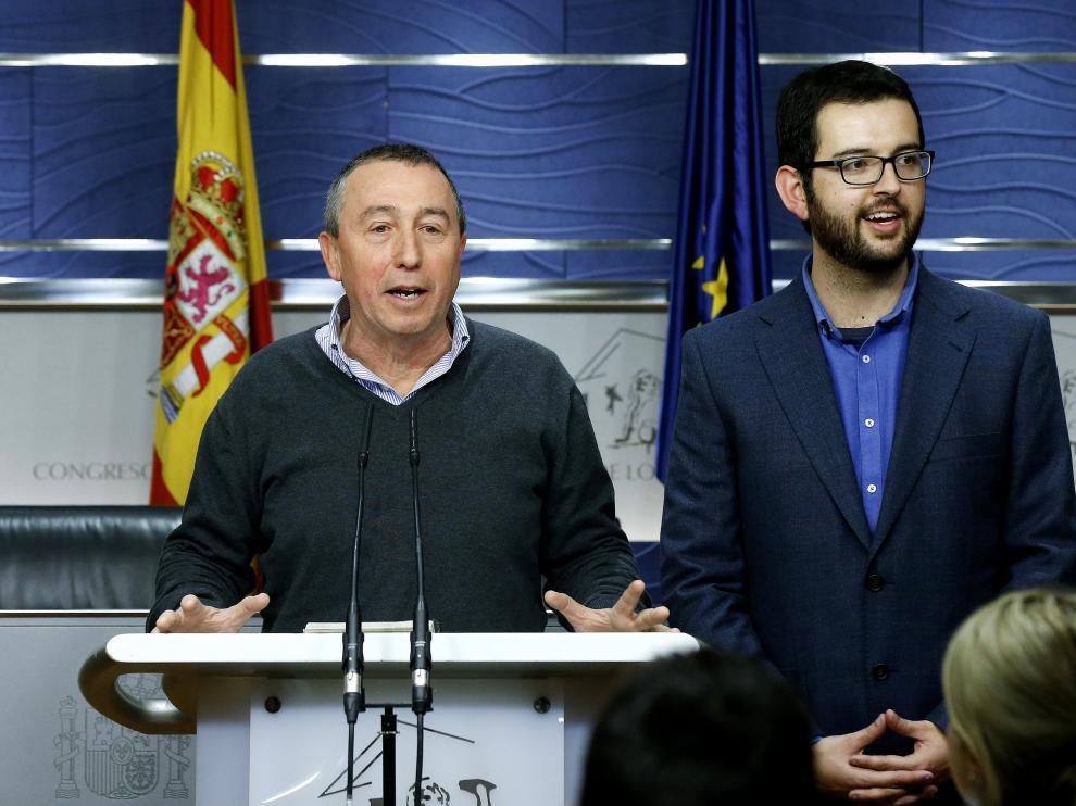 Imagen de archivo del portavoz parlamentario de Compromís, Joan Baldoví.
