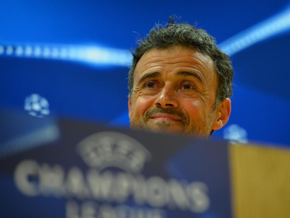 El entrenador del Barcelona, Luis Enrique
