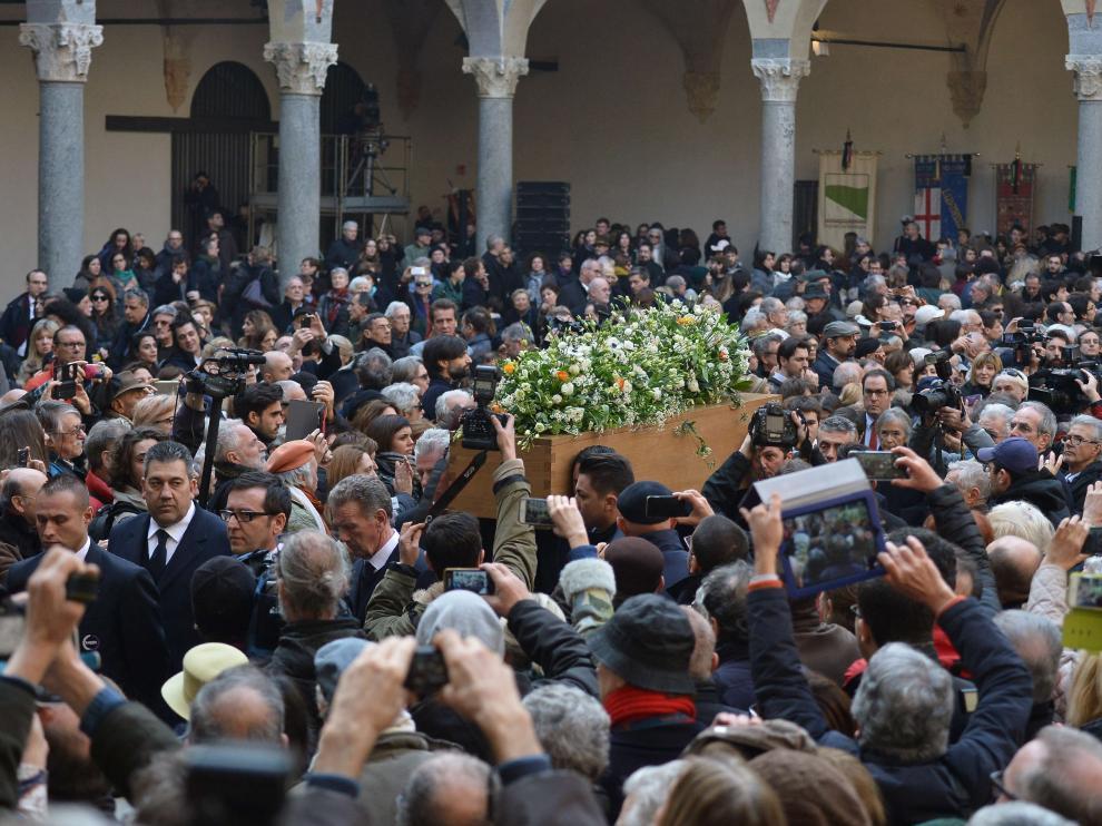 Funeral laico de Umberto Eco