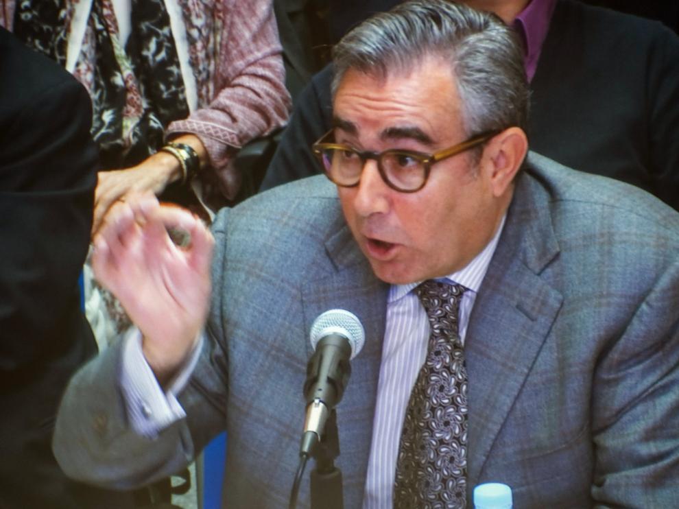 Diego Torres, durante su declaración.