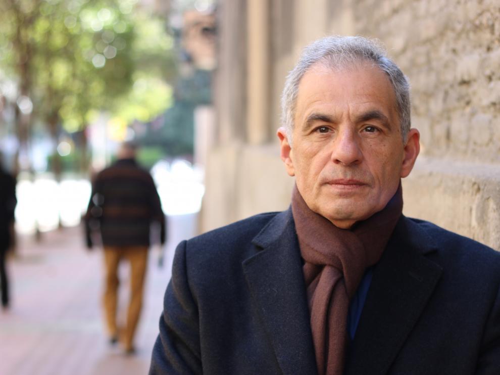 El escritor Miguel de León Jorge