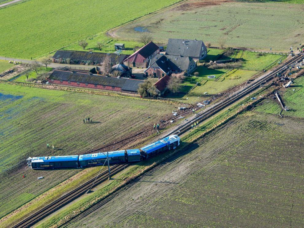 El accidente se produjo en la localidad de Dalfsen.