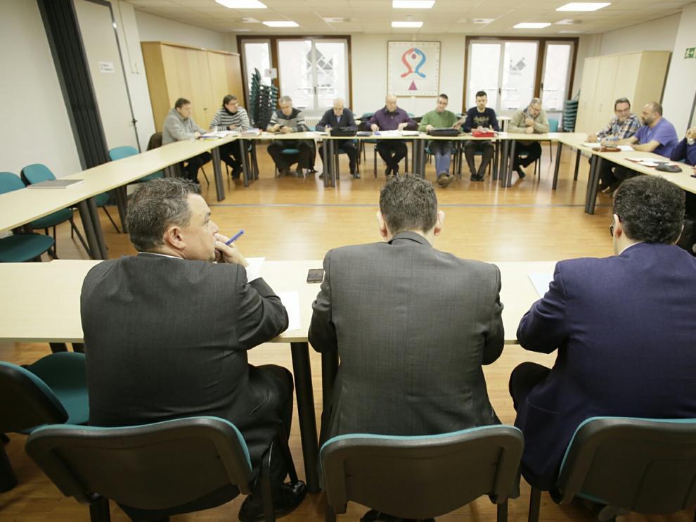 Reunión de AUZSA en el SAMA.