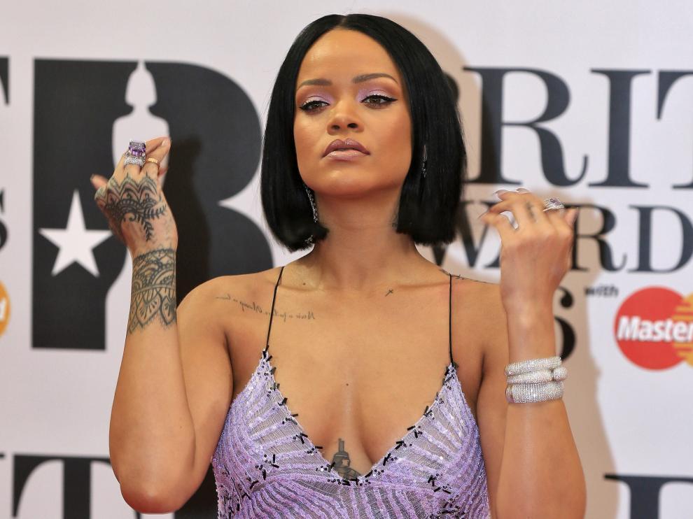 Rihanna, en los Brit Awards