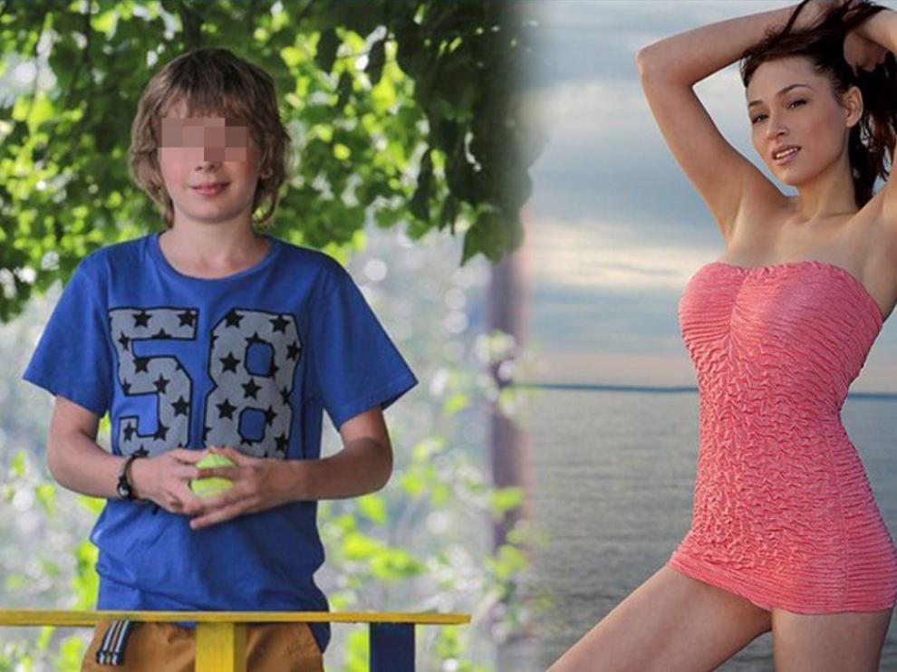 El adolescente ruso y la estrella porno.