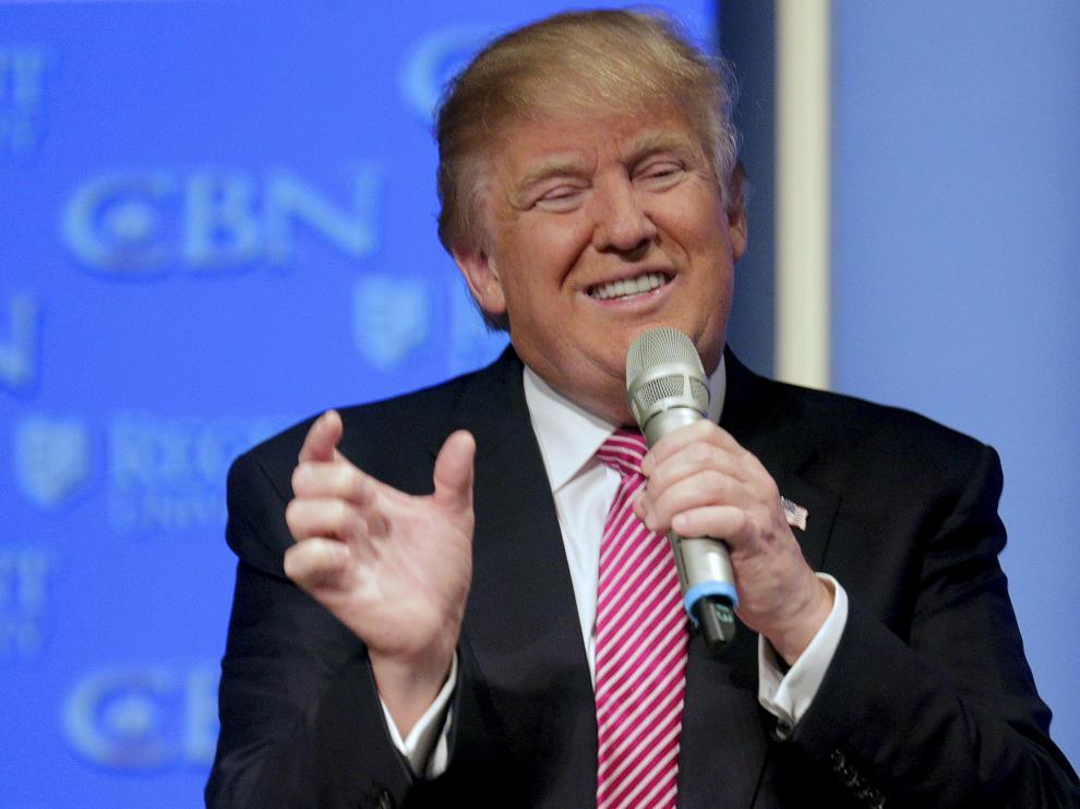 Imagen de archivo de Donald Trump.