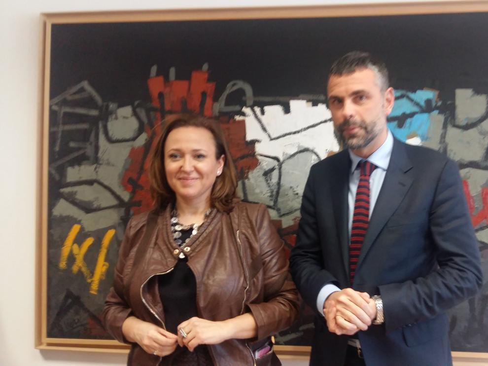 Reunión de Mayte Pérez y Santi Vila