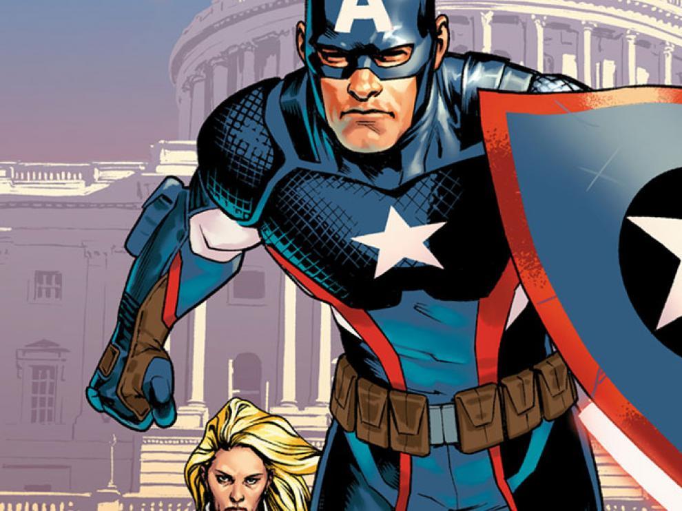 El Capitán América de Jesús Saiz