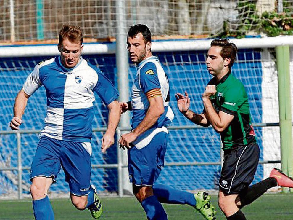 Fotografía del partido entre el Ebro y el Sestao.