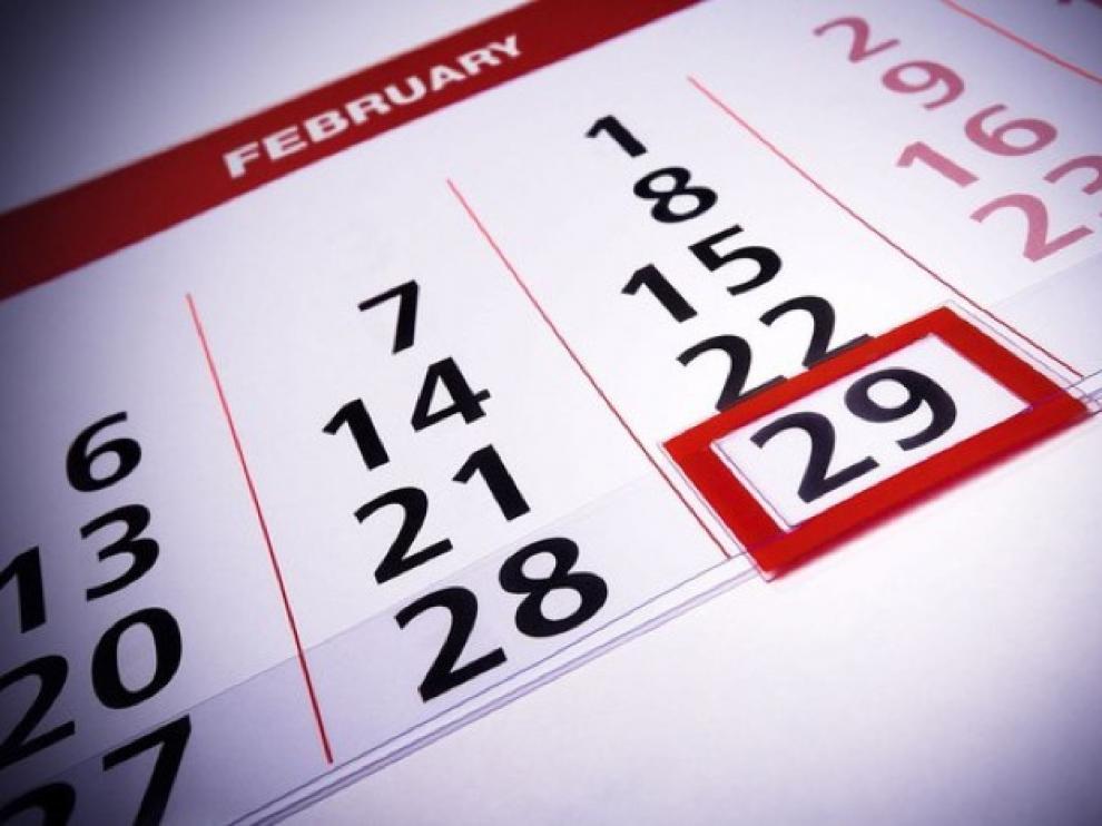 La probabilidad de nacer un 29 de febrero es de 1 entre 1.461.