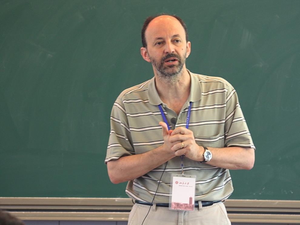 Alberto Elduque, uno de los profesores que están de año sabático.