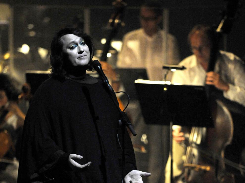 La cantante Anohni