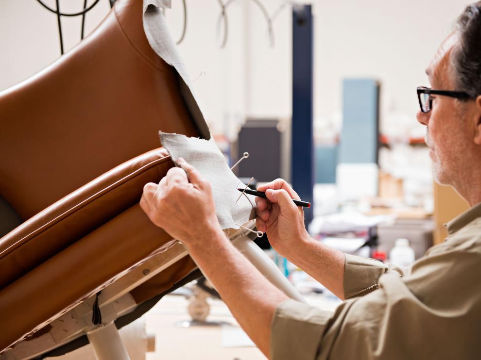 Fabricación y tapizado de muebles en Be-Spirit