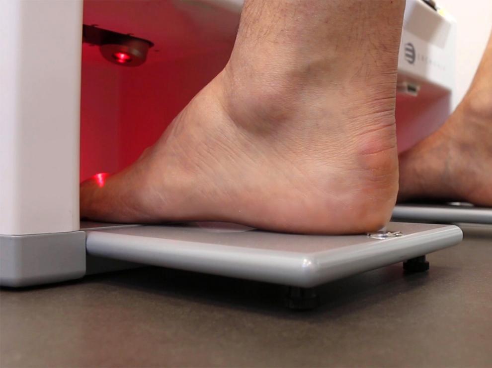 La clínica incorporó nuevos equipos de tecnología médica para el estudio de la pisada a comienzos de año.
