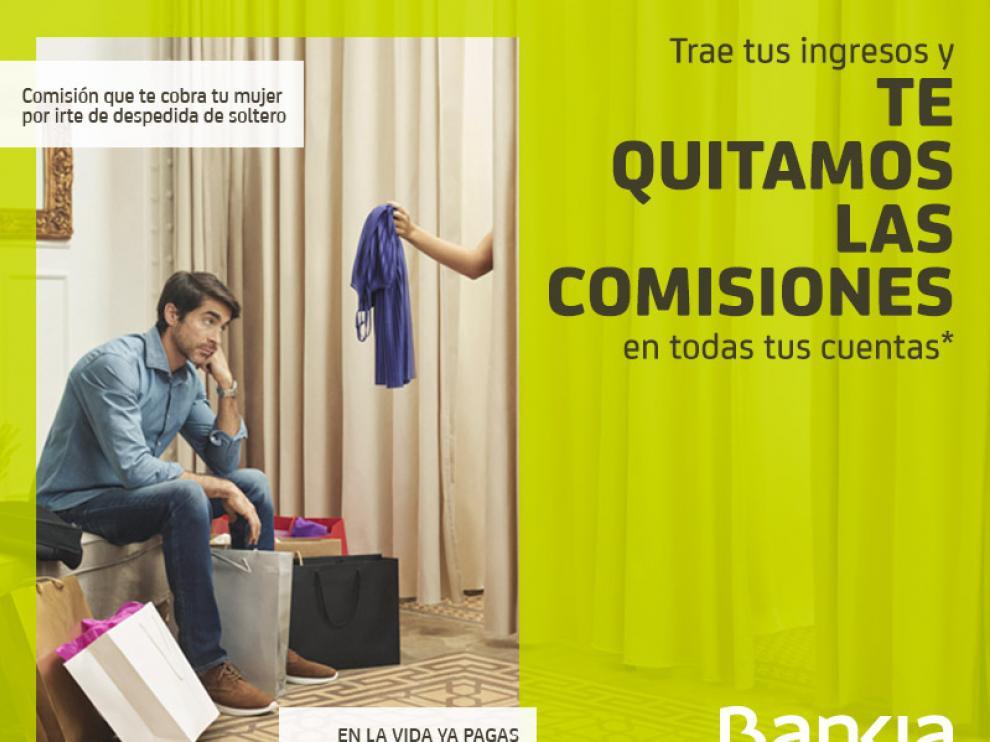 ?La Fiscalía abre diligencias por publicidad sexista en una campaña de Bankia