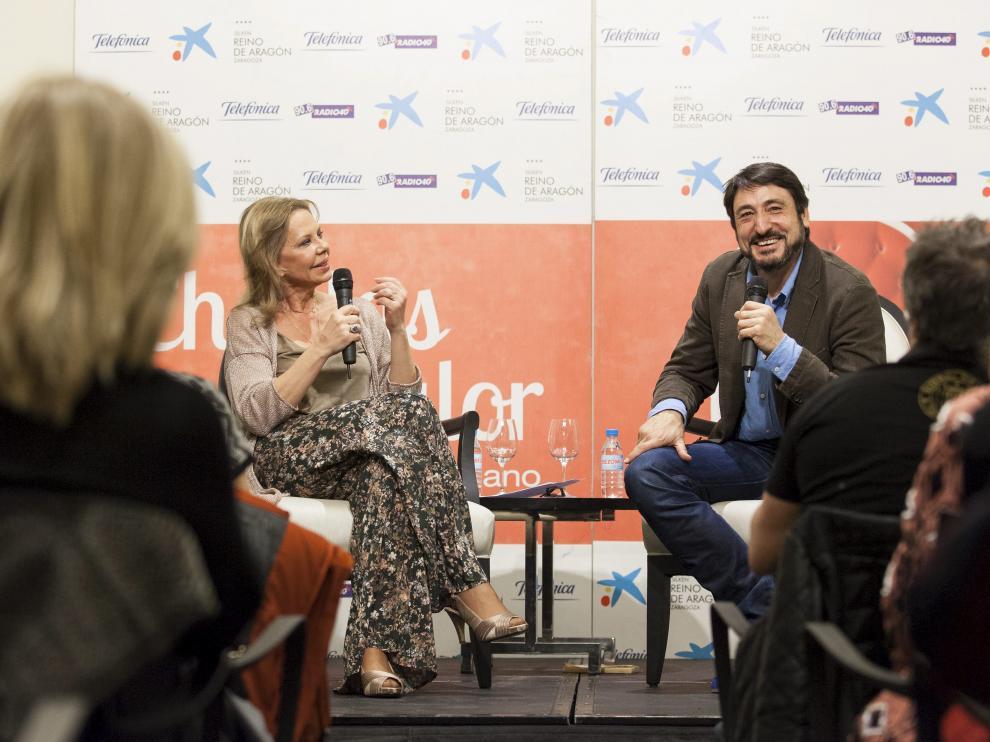 Carmelo Gómez charló de forma distendida con Mari Cruz Soriano sobre su vida y su trayectoria profesional.