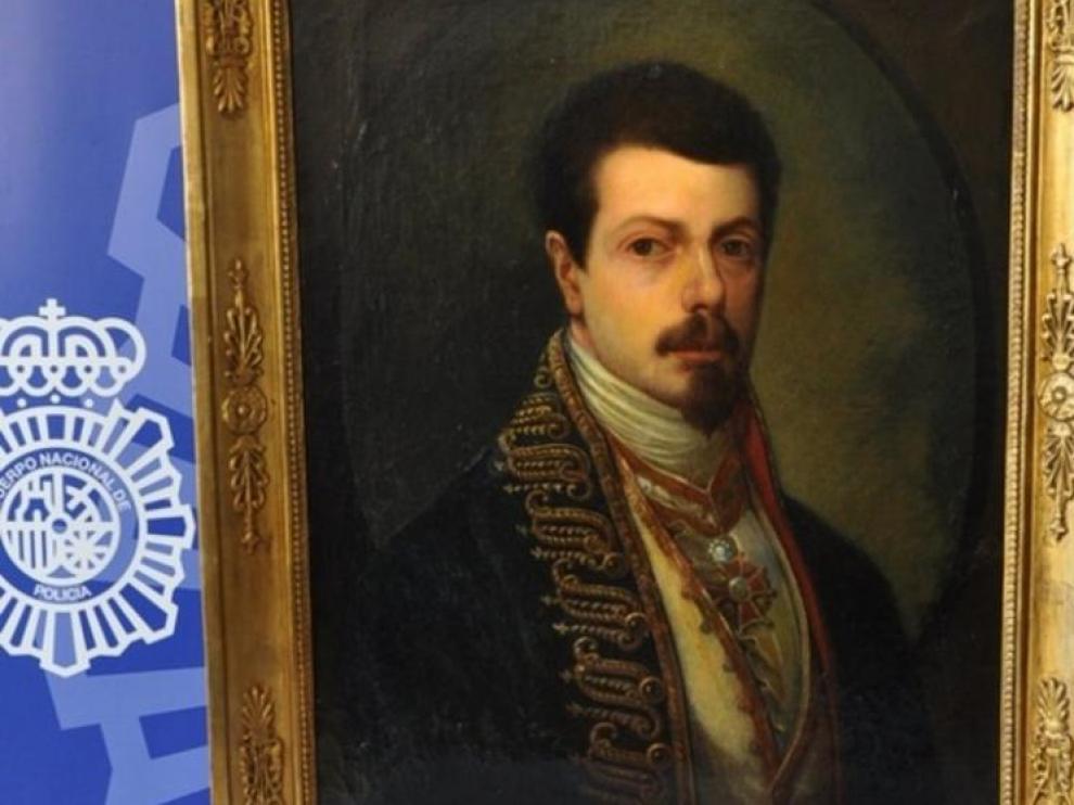 Un falso Goya incautado por la Policía este mismo mes
