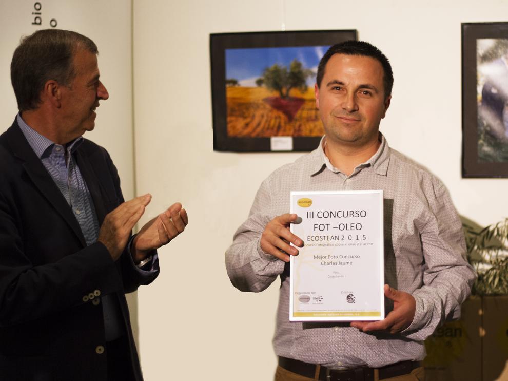 El ganador fue  Charles Jaume, de Alcarrás (Lérida) y se llevó su peso en litros, es decir 93 litros de aceite de oliva virgen extra de Ecostean.