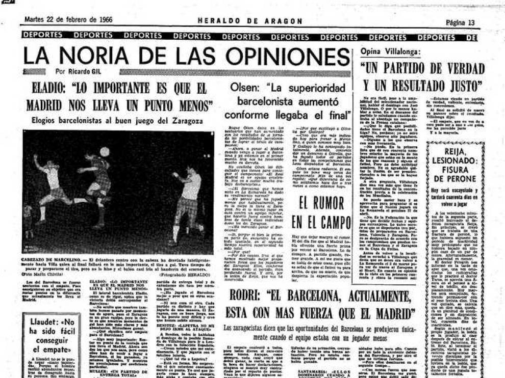 El presidente del Barcelona la lía en La Romareda
