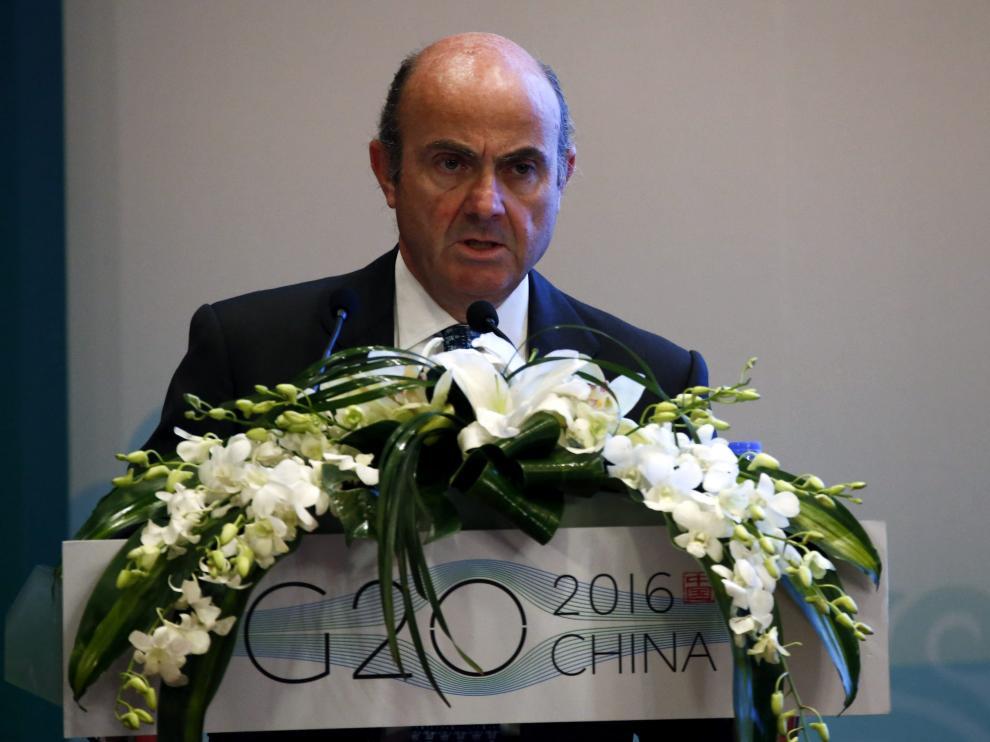 De Guindos ha participado en un seminario sobre reformas estructurales en China.
