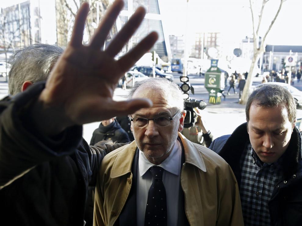 El expresidente de Bankia Rodrigo Rato, en una foto de archivo.