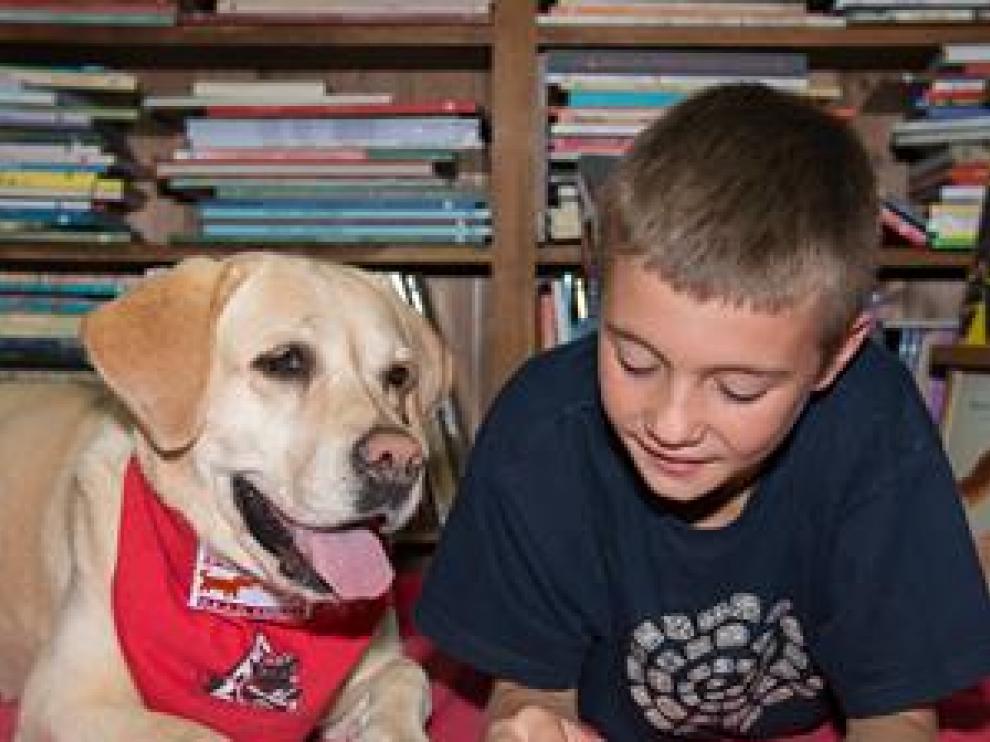 Perros que fomentan el hábito de la lectura
