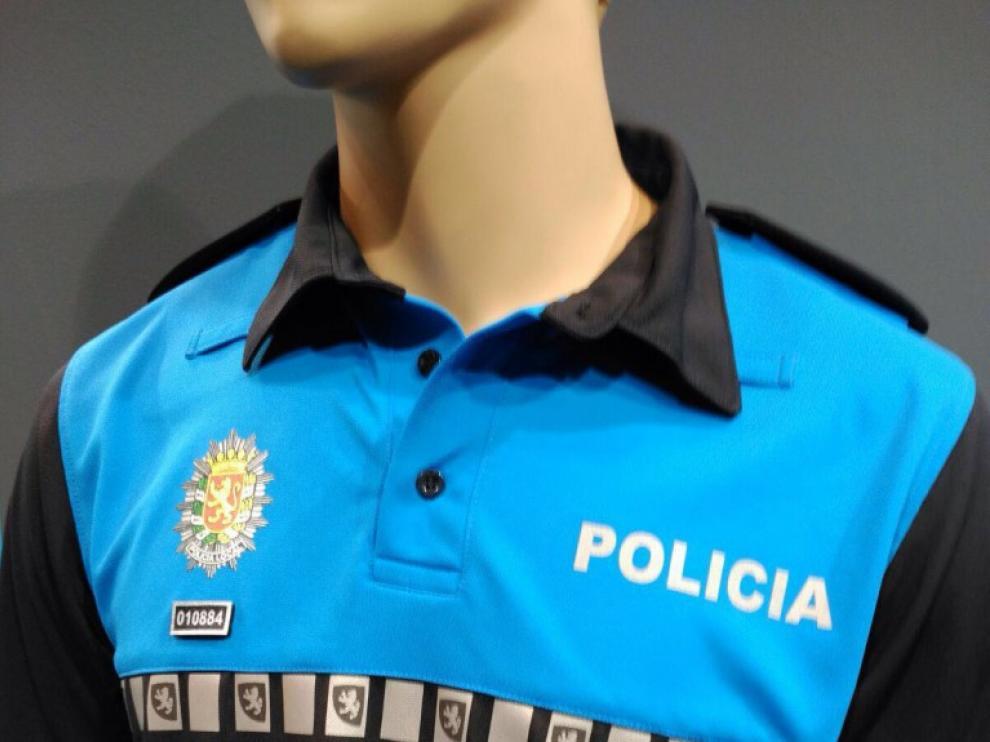 Uniforme azul de la Policía Local de Zaragoza