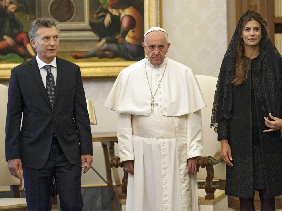 El Papa visita a Argentina
