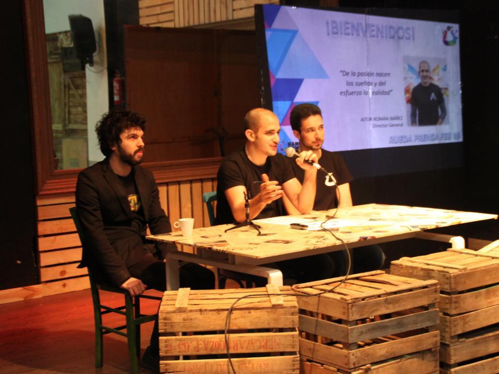 Presentación de Urano Games en el Contenedor Creativo