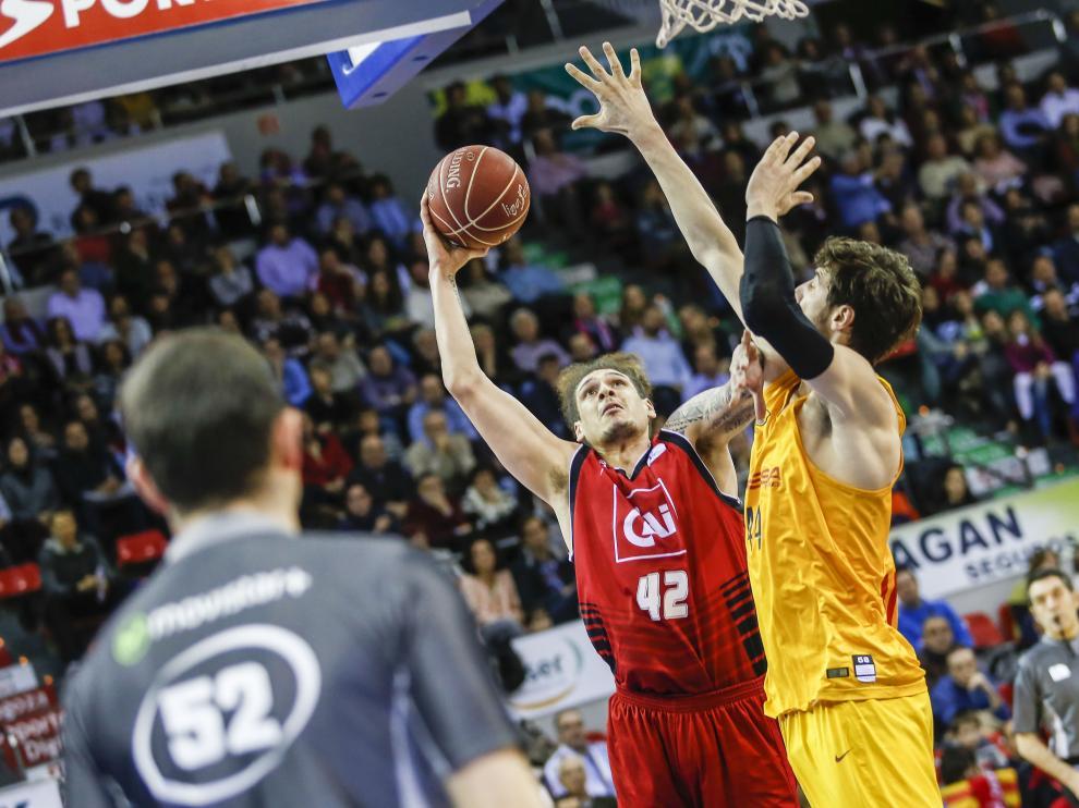 El CAI Zaragoza cae ante el Barça